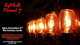 Lightbulb Live in Leeds, December 8th,2pm