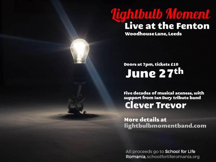 Fenton Gig Lightbulb Moment