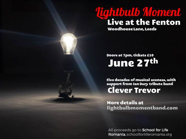Fenton Gig Lightbulb Moment