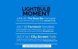 Lightbulb Moment summer 2016gigs